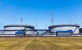 Réservoirs pour mazout terminal — Photo