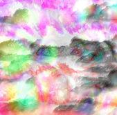 Abstrakt färg på duk. — Stockfoto