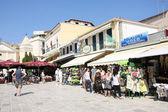 San Markos Square in Zakynthos — Stock Photo