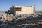 Erechtheion of Erechtheum temple — Stock Photo