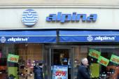 Alpina store shopwindow — Stock Photo