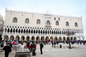 Palazzo Ducale on San Marco square in Venice — Stok fotoğraf