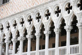 Detail of Palazo Ducale architecture — Stock Photo
