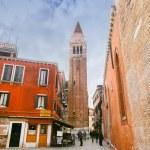 Tourists sightseeing Venice — Stock Photo #63713471