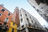 Low angle view of buildings in Venice — Stock Photo