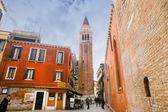 Turistas passeios Veneza — Fotografia Stock