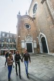 Basilica dei Frari in Venice — Stock Photo