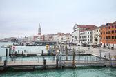 Docks at Riva degli Schiavoni  — Stock Photo