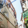 Low angle view of buildings in Rovinj — Stock Photo #72730553