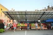 Trh v Rovinj — Stock fotografie