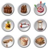 Miscellaneous icon set. — Stock Vector