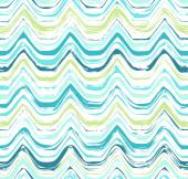 Colorful stripes seamless wavy pattern. — Stock Vector