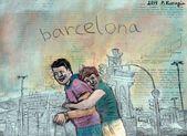 Barcelona. Plaça d'Espanya — Fotografia Stock