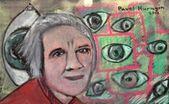 Grandma's eyes — Stock Photo