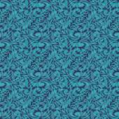 Turquoise seamless pattern — Stock Vector