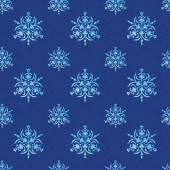 Watercolor pattern with snow — 图库照片