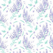 Seamless watercolor pattern — Stock Photo