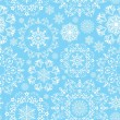 Vector seamless snow pattern — Stock Vector #55865865