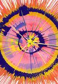 Pintura expresionista - explosión rosa abstracta — Foto de Stock