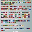 Flags of countries  collection — Stok Vektör #72106393
