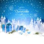 クリスマスのグリーティング カード — ストックベクタ #52518967