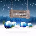 Christmas greeting card  — Stock Vector #52519033