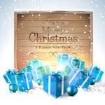 Christmas greeting card — Stock Vector #55149427
