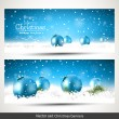 Christmas banners — Stock Vector #55149371