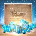 Christmas greeting card — Stock Vector #55149457