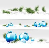 Noel sınırları — Stok Vektör