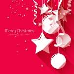 Christmas greeting card — Stock Vector #56666269