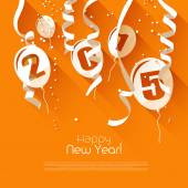 Happy New Year 2015 — Stock Vector