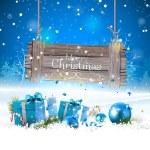 Christmas greeting card — Stock Vector #63052927