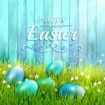 biglietto di auguri di Pasqua — Vettoriale Stock  #63056667