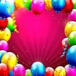 фон дня рождения — Cтоковый вектор #65912163