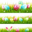 Easter borders — Stock Vector #67753361