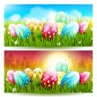 Easter banners — Stock Vector #67754177