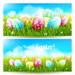 Easter banners — Stock Vector #67754183