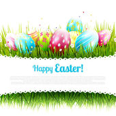 Sweet Easter greeting card — Stock Vector