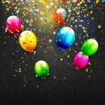Modern birthday background — Stock Vector #71986439