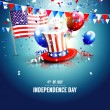 Independence day — Stock Vector #72404199