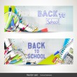 Back to School banners — Stock Vector #76926481