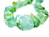 Jóias de colar de grânulos de gemstone turmalina — Fotografia Stock