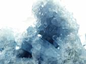 Celestite geode geological crystals  — Stock Photo