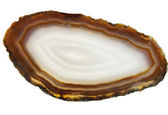 Agate geode geological crystals  — Stock Photo