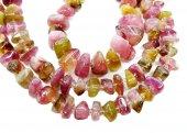 电气石宝石珠子项链首饰 — Stockfoto