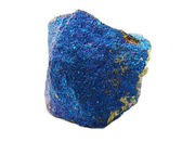 Chalcopyrite geode geological crystals — Stock Photo