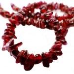 Tourmaline gemstone beads necklace jewelery — Stock Photo #60128839
