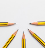 Pencils together — Stock Photo