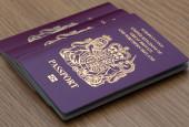 Many Uk Passports — Stock Photo